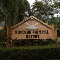Photo taken at Khaolak Palm Hill Resort by Kuntapol S. on 4/6/2013