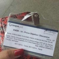 Photo taken at Cespe - Centro de Seleção e de Promoção de Eventos by Carol T. on 10/30/2014