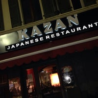 Photo taken at Kazan Sushi by Lily Lily on 11/21/2013