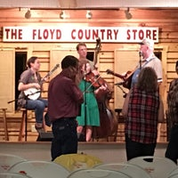 Photo taken at Floyd Country Store by Michael V. on 6/25/2016