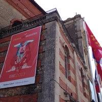 Photo taken at Arènes de Beziers by Emmanuelle R. on 8/16/2013