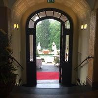 Photo taken at Falkenstein Grand Kempinski Hotel by Doris E. on 9/13/2015