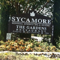Photo taken at Sycamore Springs Resort & Spa by Dave H. on 9/23/2012