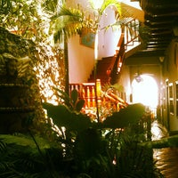 Photo taken at Hotel Casa del Curato Cartagena de Indias by Sander C. on 8/22/2013