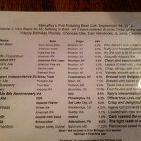 Photo taken at Mahaffey's Pub by Donnie B. on 9/15/2012