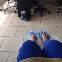 Photo taken at Luxe Nail Salon by Lynn C. on 10/26/2013