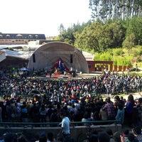 Photo taken at Anfiteatro San Pedro de la Paz by Rodrigo M. on 9/22/2013