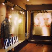 Photo taken at Zara by EvgeniyaBo on 12/26/2013