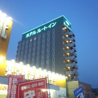 Photo taken at ホテルルートイン七尾駅東 by Hayato T. on 5/7/2014