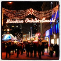 Photo taken at Christkindlmarkt by Robert R. on 12/11/2012