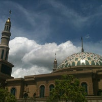 Photo taken at Masjid Islamic Centre by Saya A. on 1/13/2013