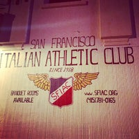 Photo taken at San Francisco Italian Athletic Club by Vincenzo A. on 12/29/2015