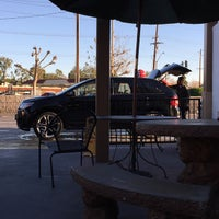 Photo taken at Beach & La Mirada Car Wash by Aaron P. on 12/26/2014