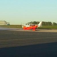 Photo taken at Wayne County Airport - Life Flight by Karin B. on 10/11/2013