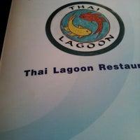 Photo taken at Thai Lagoon by Jasmine Rose F. on 9/14/2013