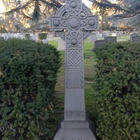 Photo taken at Mountain View Cemetery by Gregory F. on 1/15/2014