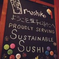 Photo taken at Mashiko by Ana Maria F. on 4/14/2013