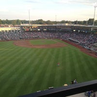Photo taken at Parkview Field by Andrew L. on 8/16/2013