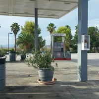 Photo taken at Gas Station In The Middle Of The Dessert by Naked B. on 8/3/2016