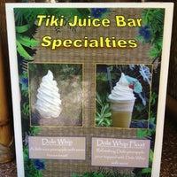 Photo taken at Tiki Juice Bar by Mark M. on 10/26/2012