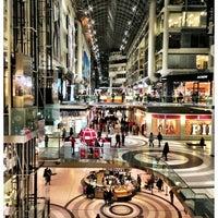 Photo taken at CF Toronto Eaton Centre by Joe M. on 3/15/2013