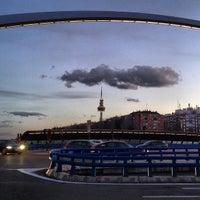 Photo taken at Puente de Ventas by Manu A. on 3/13/2013
