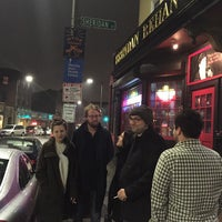 Photo taken at Brendan Behan Pub by Adam S. on 3/15/2015