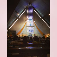 Photo taken at Gereja St. Ignatius Loyola by Felicia W. on 5/19/2013