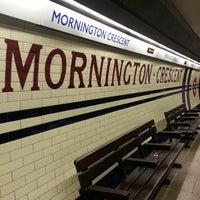 Photo taken at Mornington Crescent by Amanda Y. on 7/29/2013