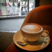 Photo taken at Zoka Coffee (ゾッカコーヒー) 目白店 by Akira M. on 9/19/2014