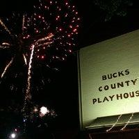 Photo taken at Bucks County Playhouse by Johanna S. on 7/27/2013