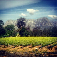 Photo taken at Thelema Wine Farm by Arlen V. on 11/6/2012