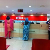 Photo taken at CIMB Bank by engku i. on 12/26/2012
