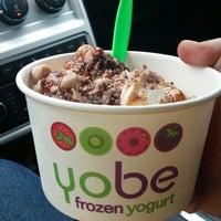 Photo taken at Yobe Frozen Yogurt by Bob B. on 4/18/2014