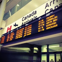 Photo taken at Toronto Pearson International Airport (YYZ) by Thomas H. on 5/21/2013