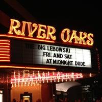Photo taken at Landmark River Oaks Theatre by Jay J. on 1/27/2013