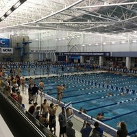 Photo taken at Greensboro Aquatic Center by Burton H. on 3/16/2016