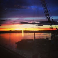 Photo taken at Evergreen Point Floating Bridge by Justin B. on 6/28/2013
