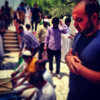 Photo taken at جامع أبي بكر الصديق by Mohsin A. on 6/21/2013