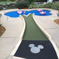 Photo taken at Fantasia Gardens Miniature Golf by Eric N. on 2/6/2014