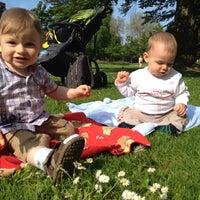 Photo taken at Stadtpark by Elena G. on 6/8/2013
