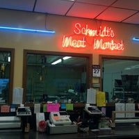 Photo taken at Schmidts Meat Market by Dawn H. on 2/27/2012