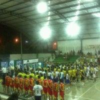 Photo taken at Ginasio de Esportes de Jaguaretama by Márcia Jussara (. on 9/8/2013
