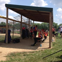 Photo taken at Finley Ray Field by Kim B. on 6/23/2013