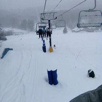 Photo taken at Cranmore Mountain Resort by Paul C. on 2/8/2013