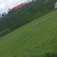 Photo taken at Campos De Futbol Las Minas by Fer N. on 9/5/2015