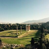 Photo taken at Athens Gate Roof Garden by Anastasia T. on 1/11/2015