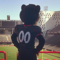 Photo taken at Nippert Stadium by UC F. on 10/16/2012