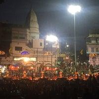 Photo taken at Dasaswamedh Ghat by MsAnthea on 6/10/2016