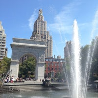 Photo taken at Washington Square Park by Julien T. on 8/25/2013